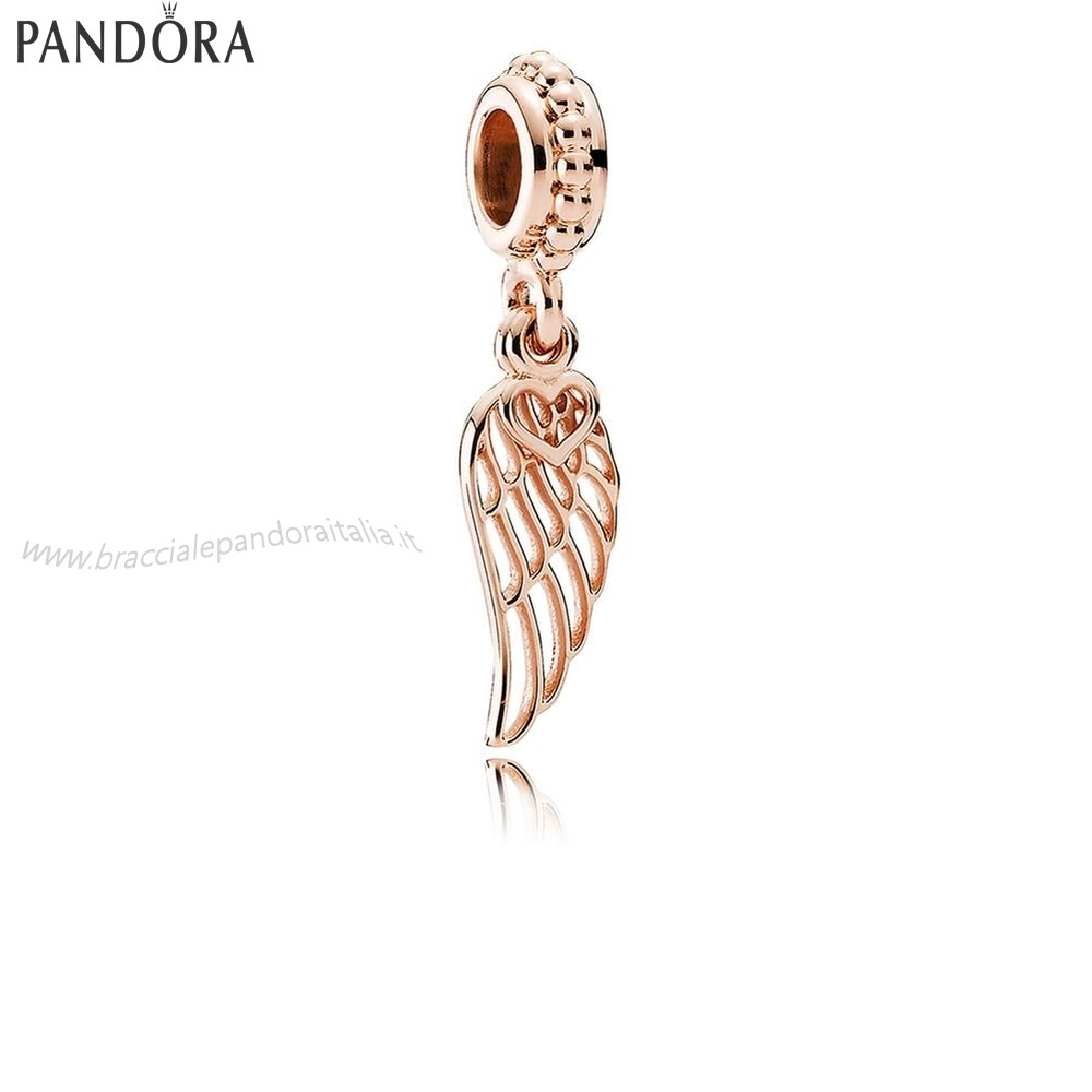 Pandora Gioielli Scontati Amore Guidance Dangle Charm Rose
